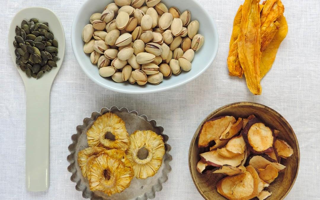 Fruits séchés, noix et graines